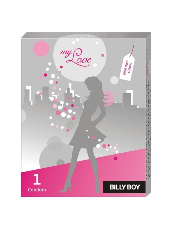 Produktfoto BILLY BOY - Girls Edition - my love 10 Stk. Nachfüllpackung, Erdbeer Aroma