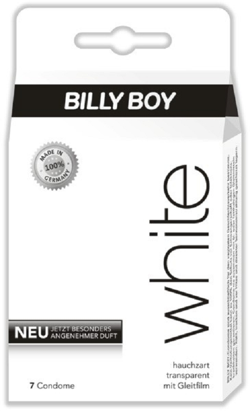 Produktfoto BILLY BOY white - mit Gleitfilm, 7 Stk.