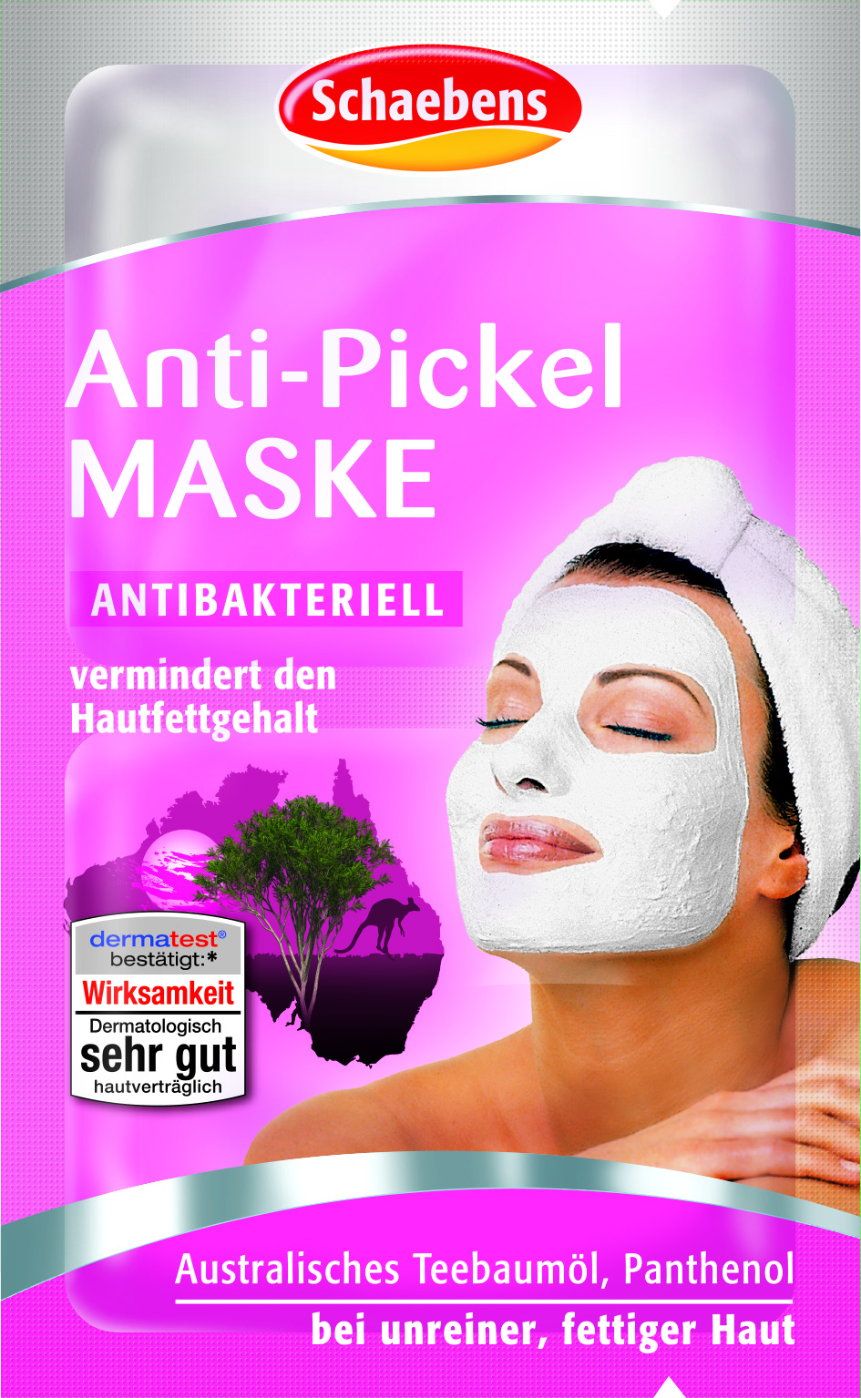Produktfoto Schaebens Anti-Pickel Maske 2 x 5 ml