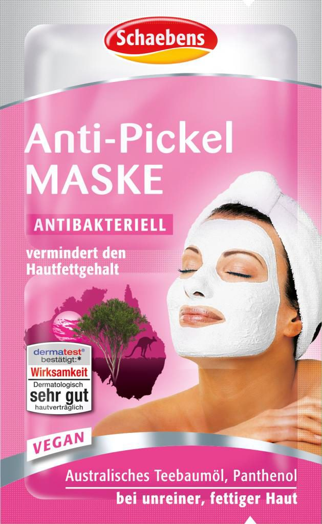 Produktfoto Schaebens Anti-Pickel Maske 2 x 5ml