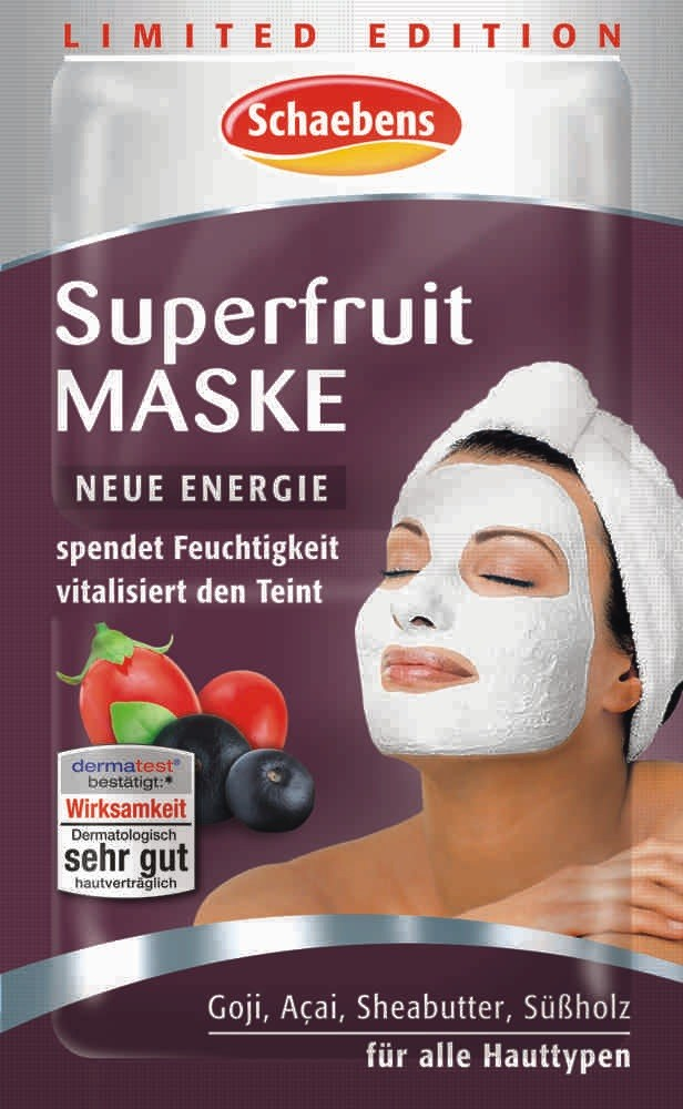 Produktfoto Schaebens Sonderedition Superfruit Maske 2 x 5 ml