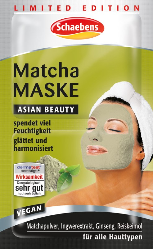 Produktfoto Schaebens Sonderedition Matcha Maske 2 x 5 ml