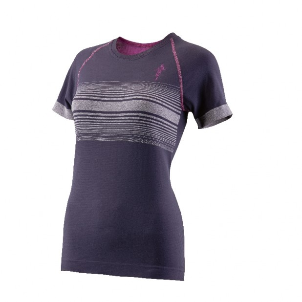 Produktfoto thoni mara runner´s wear DAMEN Summer T-Shirt graphit