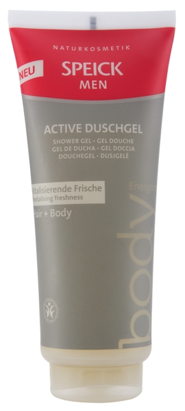 Produktfoto Speick Men Active Duschgel Hair & Body, 200 ml