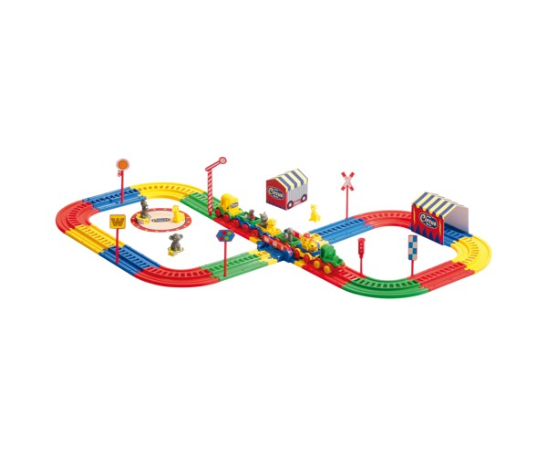 Produktfoto WADER Little Circus World Eisenbahnset