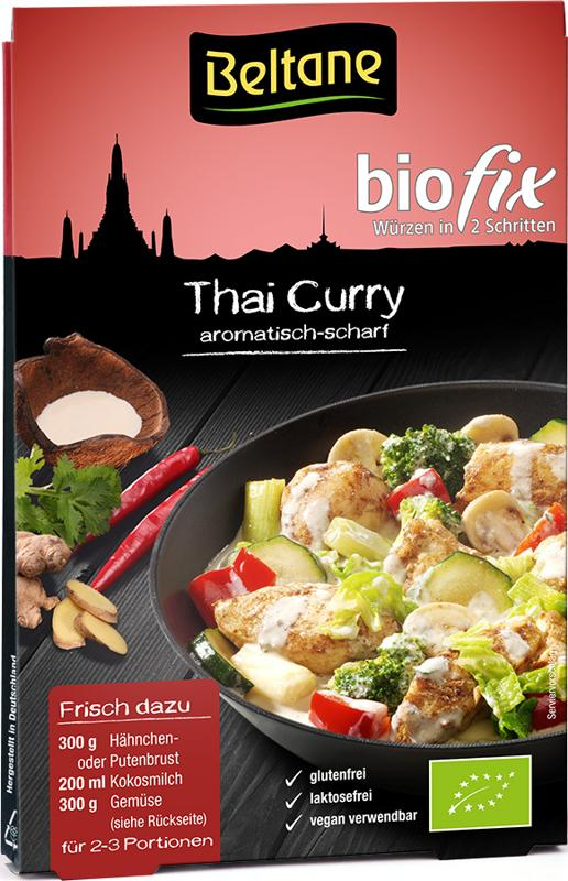 Produktfoto Beltane biofix Thai Curry