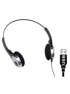 Produktfoto Grundig Digta Headphone 565 USB