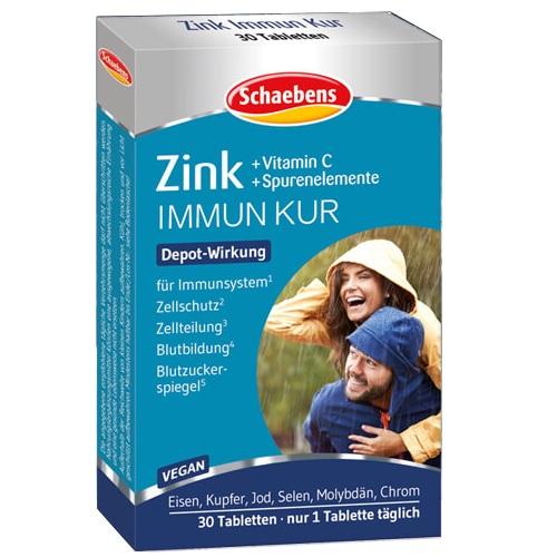 Schaebens Zink - Kur mit 7 Spurenelementen & Vitamin C..