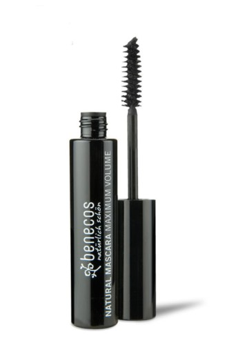 Produktfoto benecos Natural Mascara Maximum Volume deep black