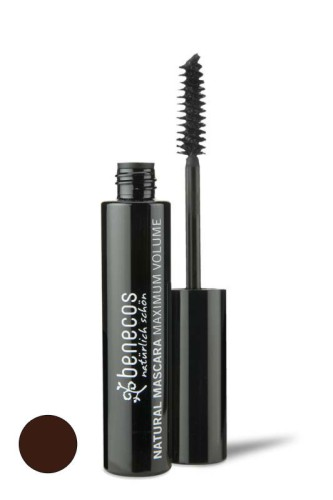Produktfoto benecos Natural Mascara Maximum Volume smooth brown