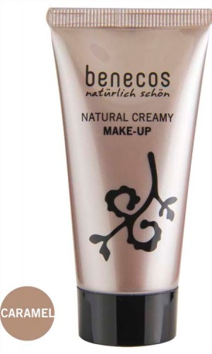 Produktfoto benecos Natural Creamy MAKE-UP caramel