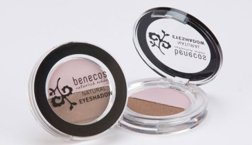 Produktfoto benecos Natural Duo-Eyeshadow clouds