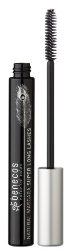 Produktfoto benecos Natural Mascara Super Long Lashes carbon black