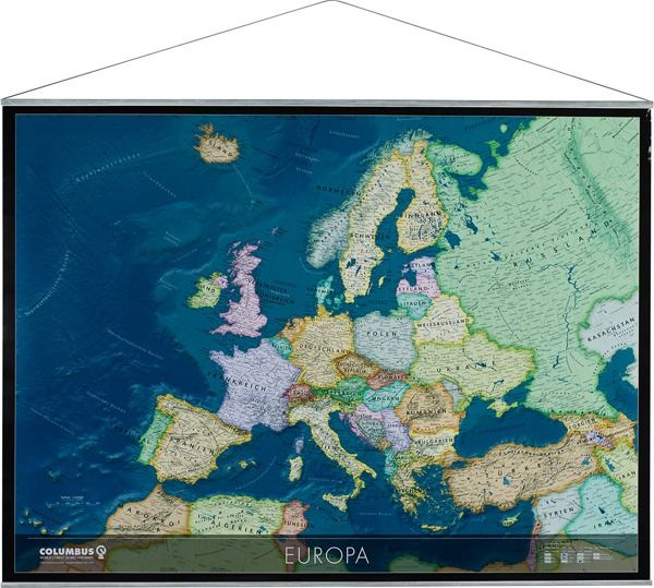 9783869610191: Weltkarte physisch Wandkarte mit