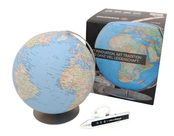 Produktfoto COLUMBUS Globus Expedition Erde mit Audio Stift