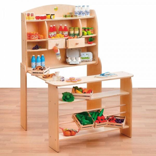 erzi kaufladen modern art nr erz10065 kaufladen gutes aus. Black Bedroom Furniture Sets. Home Design Ideas