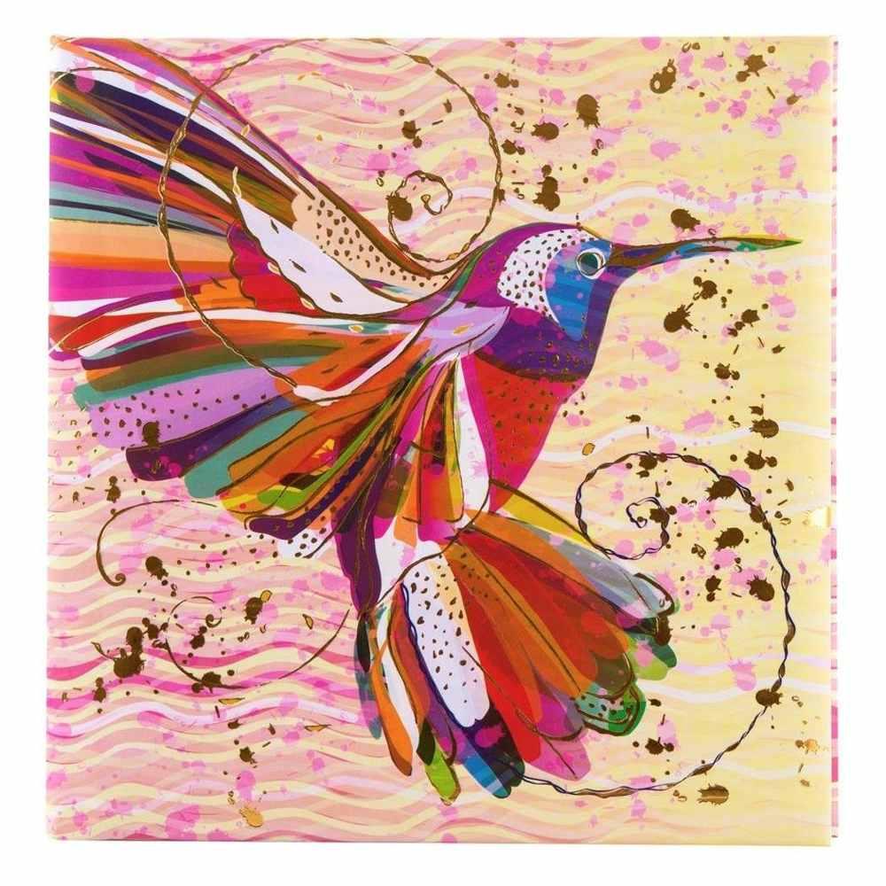 goldbuch poesiealbum turnowsky flower kolibri art nr go42273 poesiealben gutes aus. Black Bedroom Furniture Sets. Home Design Ideas