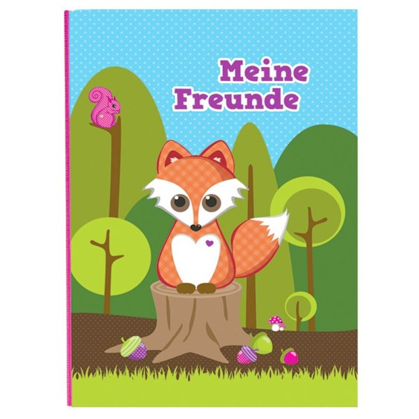 Produktfoto goldbuch Freundebuch Little Fox Retro-Design
