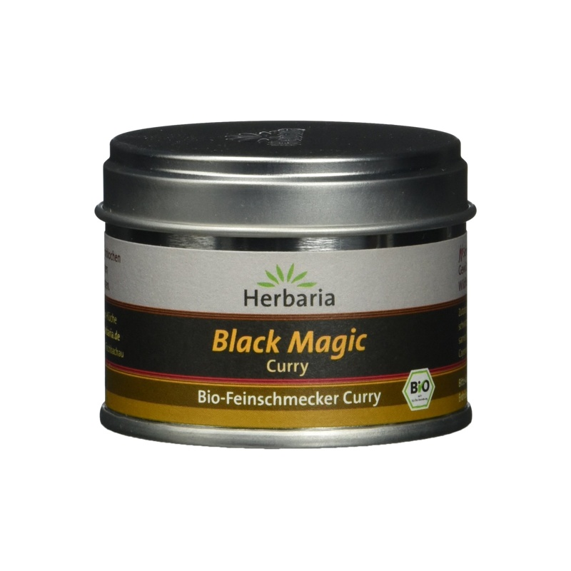 Produktfoto Herbaria Black Magic Curry - Bio Gewürzmischung 30g