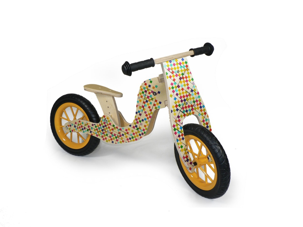 bambinobike laufrad aus holz natur art nr bap1606 geschenke f r kinder gutes aus. Black Bedroom Furniture Sets. Home Design Ideas