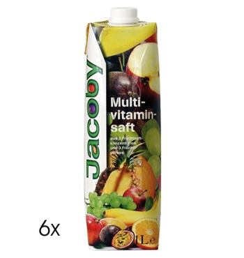 Produktfoto Jacoby Multivitaminsaft 6 x 1,0l