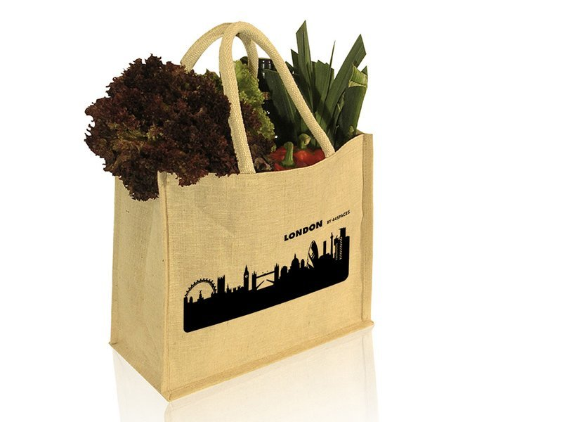 Produktfoto 44spaces City Skyline City Shopper aus Jute