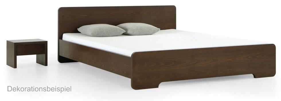 bett initio ocari 140 200 cm multiplex echtholz buche farbig gebeizt art nr cw ocari 14 20 gl. Black Bedroom Furniture Sets. Home Design Ideas