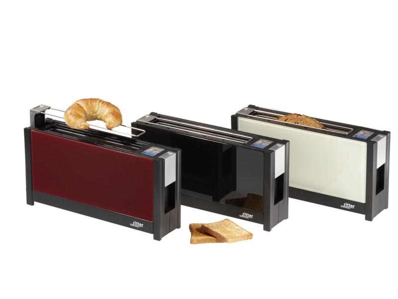 ritter toaster volcano5 wei art nr ri630001 toaster gutes aus. Black Bedroom Furniture Sets. Home Design Ideas