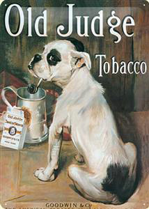 Produktfoto Nostalgic Art Blechschild Old Judge Tobacco, 30 x 40 cm