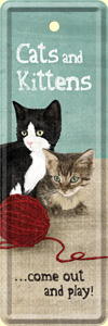 Produktfoto Nostalgic Art Lesezeichen Cats and Kittens
