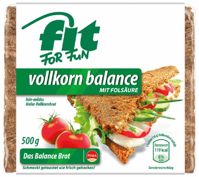 Produktfoto PEMA FIT FOR FUN Vollkorn Balance 500g