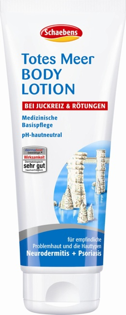 Produktfoto Schaebens Totes Meer Body Lotion 200ml