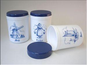 Vorratsdosen Mehl Zucker Salz sonja plastic vorratsdose mehl zucker salz 1l muster