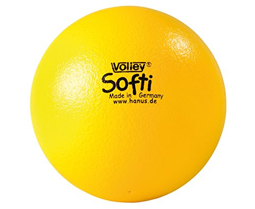 Produktfoto VOLLEY Softi Ball gelb, extra weich