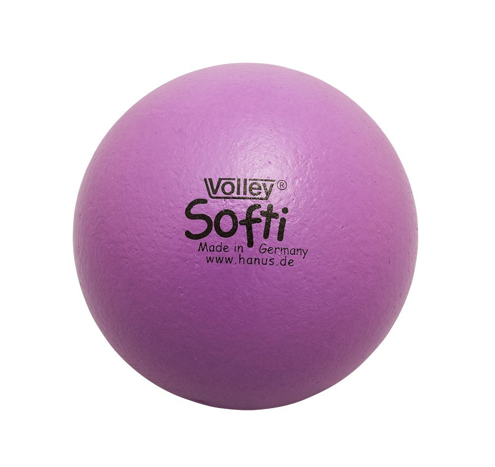 Produktfoto VOLLEY Softi Ball violett, extra weich