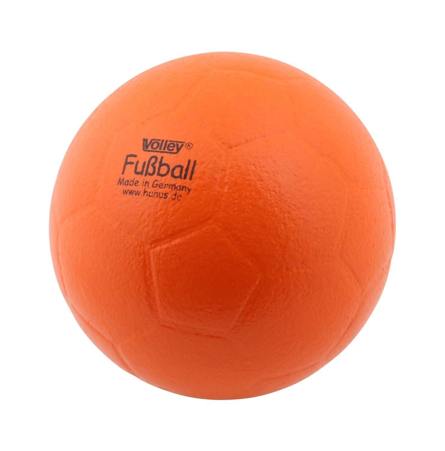 Produktfoto VOLLEY Fußball orange, mit ELE Haut, 18cm gut springend